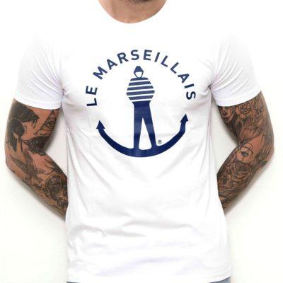 Tee-shirt « Logo – Le Marseillais » – Blanc
