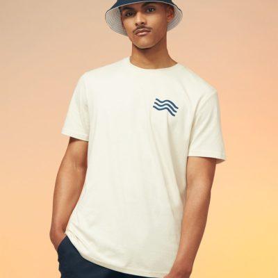 Tee-shirt collection L'idéal « Vagues »