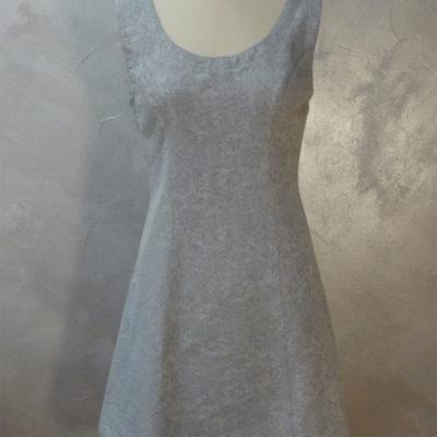 Robe chasuble bleu pastel – T.38