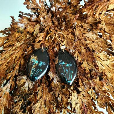 Boucles d'oreilles – Pétales fleuris