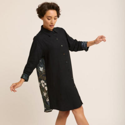 Robe tunique Femme Noire