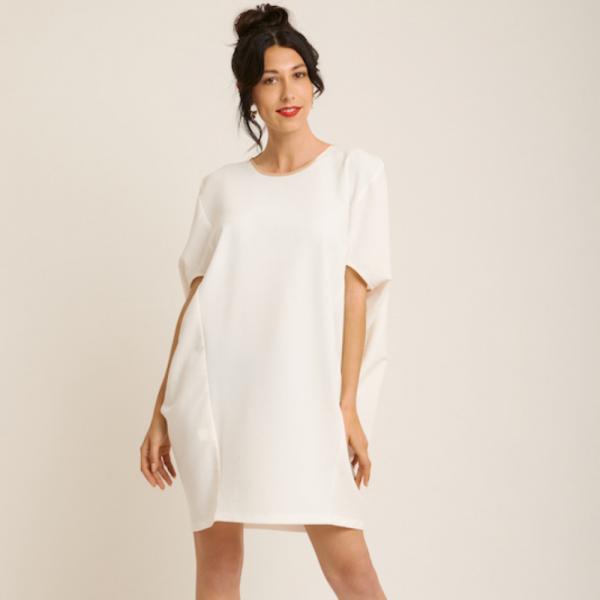 Maison Monarque robe Lagos blanche