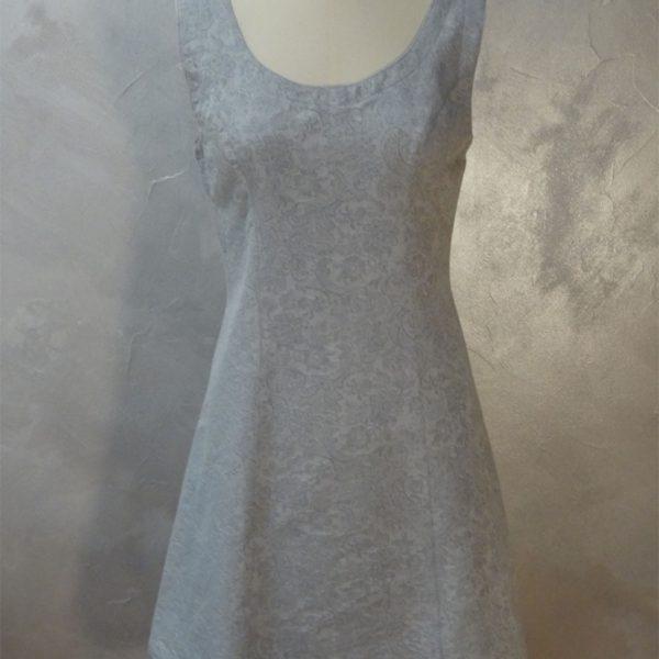 Robe chasulable bleu pastel